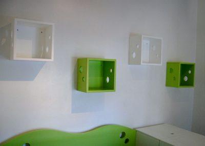 Cubo de pared