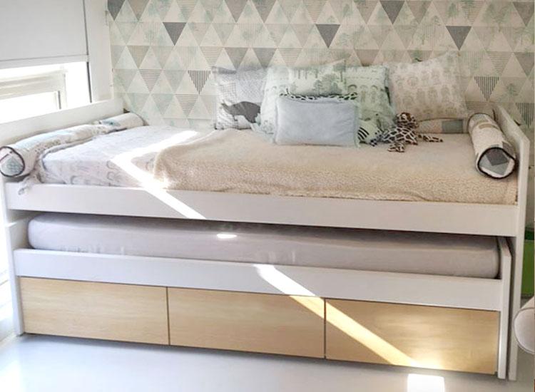 1 cama nido gutambu