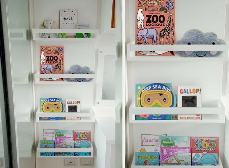 12 biblioteca de pared