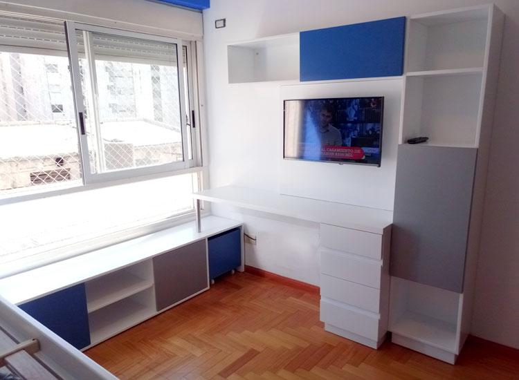 5 escritorio azul