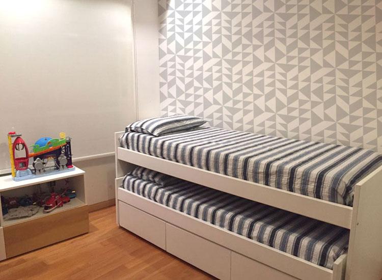 cama nido blanca marie